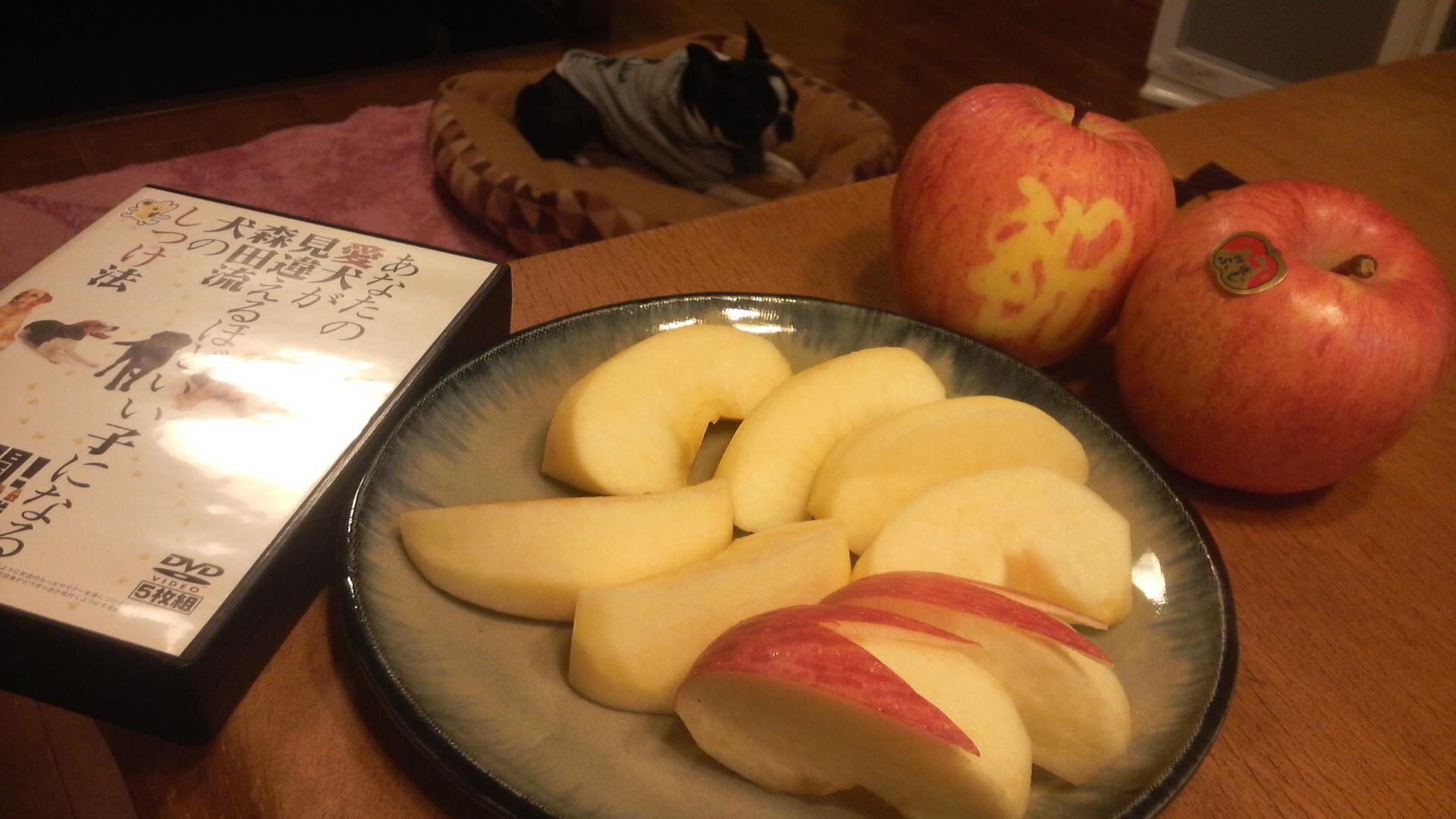 りんごの気持ち♪